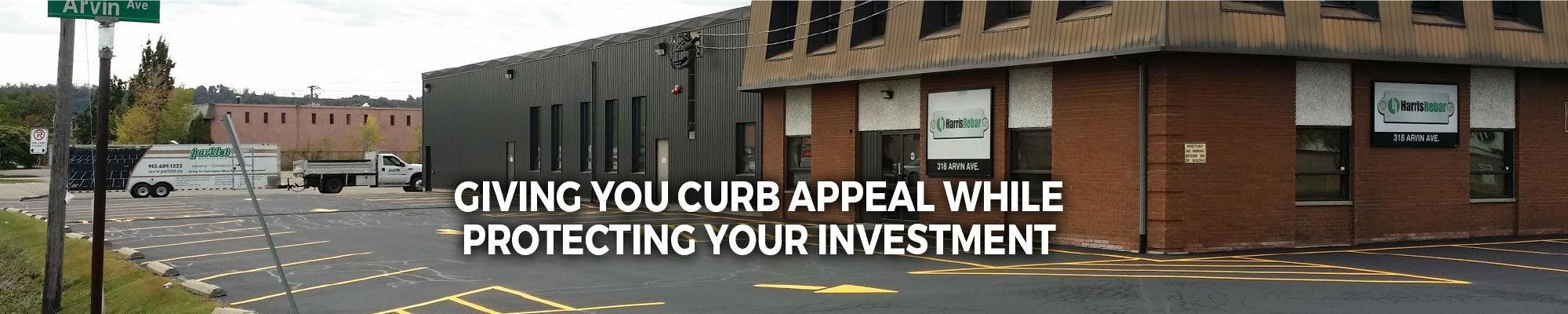 Giving You Curb Appeal, Protecting Your Investment | parking lot