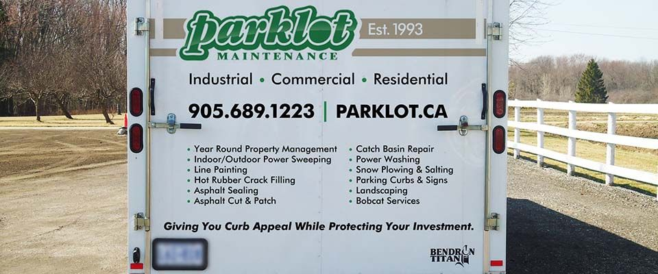 Parklot Maintenance trailer